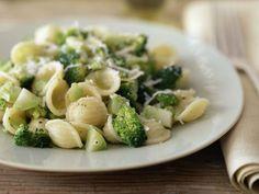 Receta rápida de pasta con brócoli