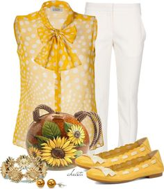 """Sunflowers"" by christa72 on Polyvore"