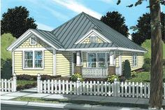 Traditional, Country, Ranch House Plans - Home Design