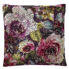 Mattiazzo Damson Pillow design by Designers Guild