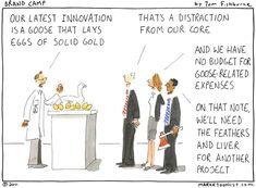 innovation that lays the golden eggs - Tom Fishburne