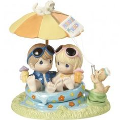 """Everyday With You is Paradise"" Limited Edition Bisque Porcelain Sculpture"