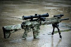 Custom built tactical hunting rifle