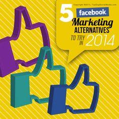 5 social media alternatives to Facebook to try in 2014 (Instagram, LinkedIn, blogging, video marketing, podcasting)