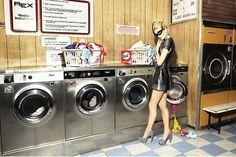Faut pas rêver la laverie c'est pas comme ça !