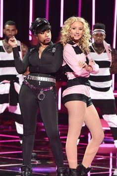 Pin for Later: Les Meilleures Photos des iHeartRadio Music Awards Jennifer Hudson et Iggy Azalea