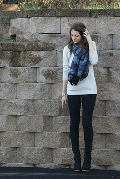 casual winter look | lenore lamé