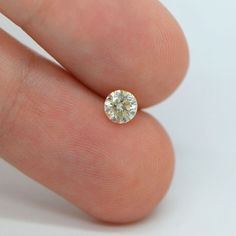 Round Brilliant Cut 0.45 Carat H SI1 Certified Natural Diamond- Clarity Enhanced #MyDiamonds