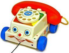 JOUETS NOSTALGIE Réédition Téléphone Fisher Price