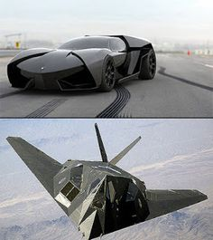 F-117 Nighthawk-Inspired Lamborghini Ankonian.A very special edition that comes in Black only.Check this out details... ---http://rapbd.blogspot.com/2013/01/f-117-nighthawk-inspired-lamborghini.html