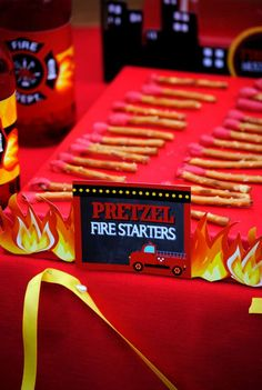 Fire Fighter Birthday Party Ideas | Photo 63 of 112