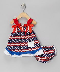 Patriotic Swing Top & Bloomers - Infant