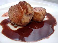 Varomeando: Solomillo de cerdo con salsa de cebolla y oporto