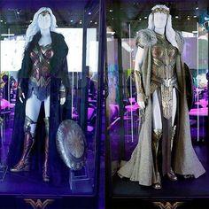 Uniforme da Mulher-Maravilha (@gal_gadot) e a rainha Hipólita (Connie Nielsen) na Licensing Expo 2016! ⭐️=w=⭐️ Segue a gente no Instagram? • Curta nossa página oficial: fb.com/universomulhermaravilha • #wonderwoman #universomm #dianaprince #mulhermaravilha #mujermaravilla #wonderwomanmovie #wondergal #galgadot #connienielsen #amazon #costume #uniformes #warriors #dc #dccomics #dcfilmes #dcmoviesuniverse #superman #batman #licensingexpo #licensingexpo2016