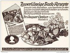 Original-Werbung/ Anzeige 1941 - DR. OETKER BACKREZEPTE - ca. 125 x 90 mm