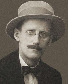 A portrait of James Joyce