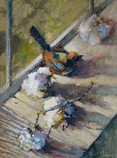 Chaleur Windowseal par Ann Hardy Oil ~ 16 x 12Chaleur Windowseal Huile sur toile de lin belge à bord 16 x 12 x 2 1,200.00 $ USD Vendu