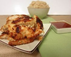 Crunchy Coconut Chicken | OAMC from Once A Month Mom