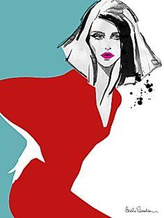 Aasha Ramdeen -  Red Dress