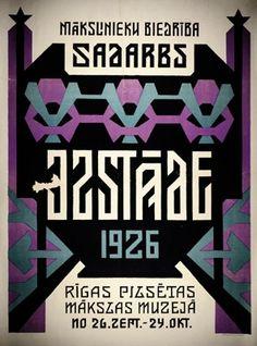 Latvian poster.