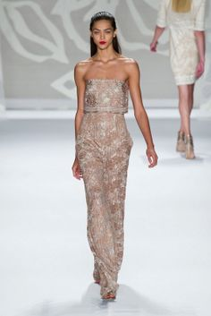 Monique Lhuillier S/S 2014 New York FW