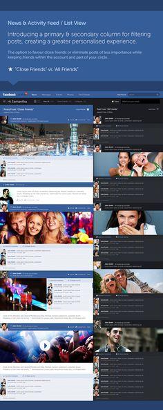 Porque o Facebook não é assim?