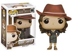 Marvel Agent Carter POP! Marvel Vinyl Figur Agent Carter Sepia Variant 9 cm