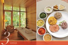 Set on 21 acres of orchards and gardens in Dehradun, India, the newly opened Vana, Malsi Estate wellness retreat offers customized programs with goals like weight loss, de-stressing, or deepening your meditation practice. With a staff-to-guest ratio of 2:1, you can pad around in organic cotton robes and eat meals that follow ayurvedic principles. A vata-style dinner (focusing on the elements of ether and air) might include the warming and sweet flavors of chicken korma, pumpkin hash, and…