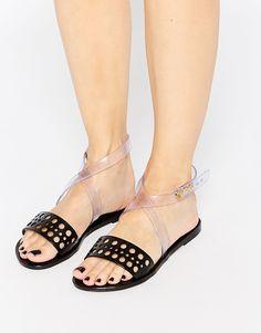 Immagine 1 di Melissa - Tasty - Sandali piatti con cinturino alla caviglia