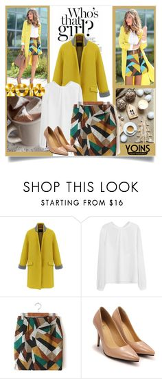 """Yoins skirt"" by mini-kitty ❤ liked on Polyvore featuring yoins and yoinscollection"
