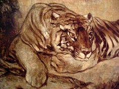 Antoine-Louis Barye: Tiger