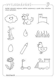 Pracovní sešity pro předškoláky - KuliFerda Diy For Kids, Crafts For Kids, Baby List, Worksheets, Activities For Kids, Preschool, Logos, Activities, School