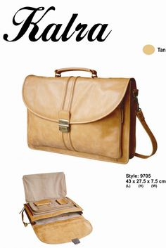 Kalra Merchandising design team understands the needs of todays men Leather bags have now become a major part of mans daily accessory .
