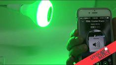 RGB Led Kablosuz Bluetooth Hoparlör Ampul Uzaktan Kumanda uygunbence.com