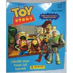 Disney's Toy Story sticker album from Panini