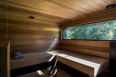 Modern Finnish architecture adapts the nature environment - Modern Finnish sauna - Sauna House, Sauna Room, House In Nature, House In The Woods, Villa Design, House Design, Modern Saunas, Piscina Spa, Building A Sauna