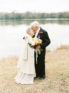 Photography: Shalyn Nelson - Love, The Nelsons - www.facebook.com/lovethenelsons or www.soshayblog.com  Read More: http://www.stylemepretty.com/2015/02/13/a-love-story-63-years-in-the-making/