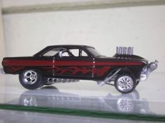 1964 Ford Falcon Gasser Fuelie Retro by DimensionalAutoArt on Etsy, $79.00