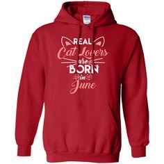Real Cat Lovers June - Hoodie