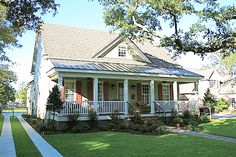 Front and Rear Porches - 32597WP | Architectural Designs - House Plans