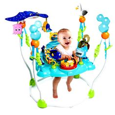 #disney #baby finding nemo sea fun bouncer-jumper 13 engaging toys and activities from $179.99
