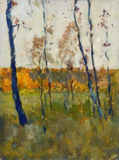 Autumn, 1899. Isaac Levitan