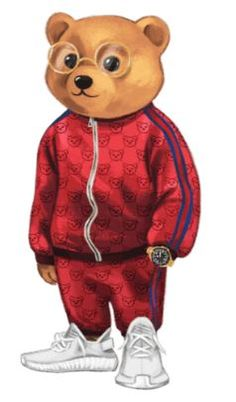 Niedlicher Panda, Cute Panda, Teddy Bear Drawing, Nike Signs, Polo Design, Bear Character, Bear Illustration, Bear Logo, Bear Wallpaper