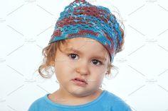 Angry four years girl by De todo un poco on @creativemarket