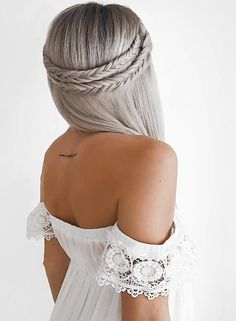 Most trending braided headband hairstyles for long hair to wear in 2017.
