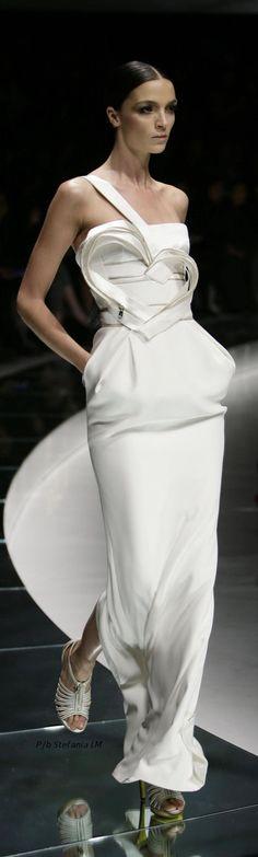 Atelier Versace, Rsvp, One Shoulder Wedding Dress, Romance, Snow, Elegant, Wedding Dresses, Collection, Black