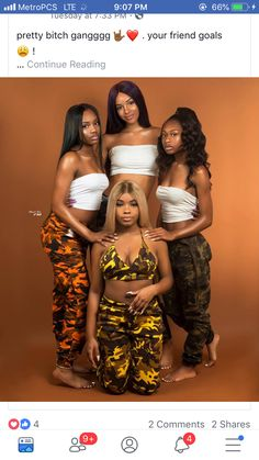 Would you take a cute photo with your friends? Matching Outfits Best Friend, Best Friend Outfits, Black Girl Groups, Black Girls, 16th Birthday Outfit, 20 Birthday, Tumblr Bff, Shotting Photo, Girl Outfits