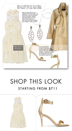 """MEGHNA JEWELS - BORA BORA COLLECTION"" by elly-852 ❤ liked on Polyvore featuring Fendi, Gianvito Rossi, Elie Saab, Bora Bora, jewelry, timeless, Exotic and borabora"