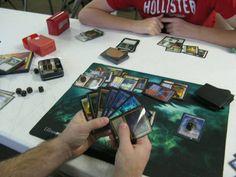 Top 8 at Magic The Gathering Tournament