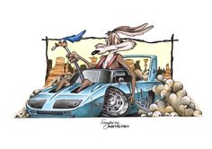 Wile E Coyote / Road Runner